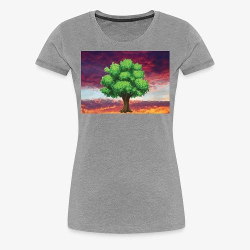Tree in the Wasteland - Women's Premium T-Shirt