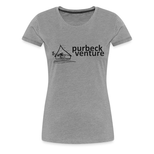 Purbeck Venture Active black - Women's Premium T-Shirt