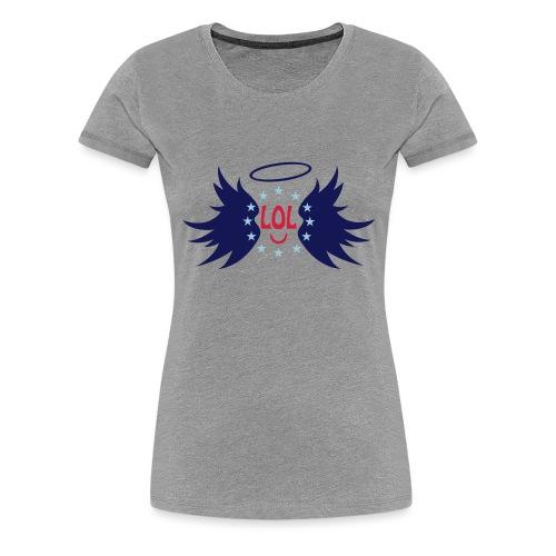 Tablier de cuisine : LOL avec aile ange - Women's Premium T-Shirt