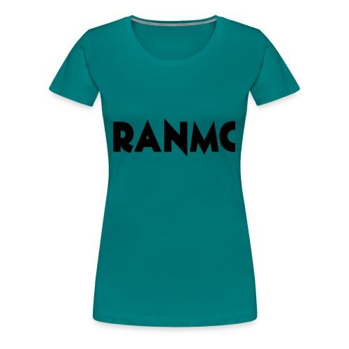 RANMC ZWART png - Vrouwen Premium T-shirt