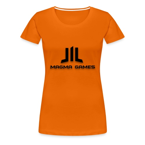 Magma Games muismatje - Vrouwen Premium T-shirt
