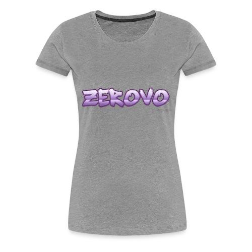 zerovomerchandise - Vrouwen Premium T-shirt