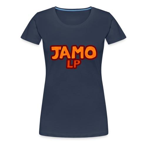 JAMOLP Logo T-shirt - Dame premium T-shirt