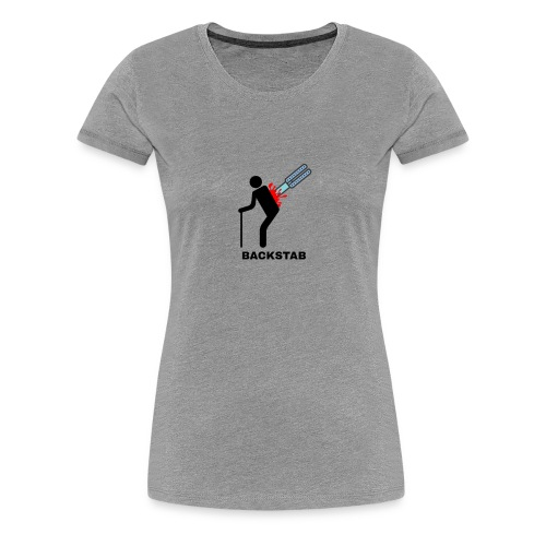 Ateronex/Backstab - Dame premium T-shirt
