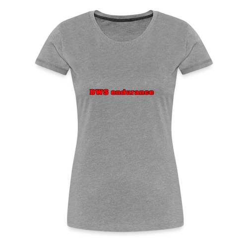 DWS RED - Women's Premium T-Shirt