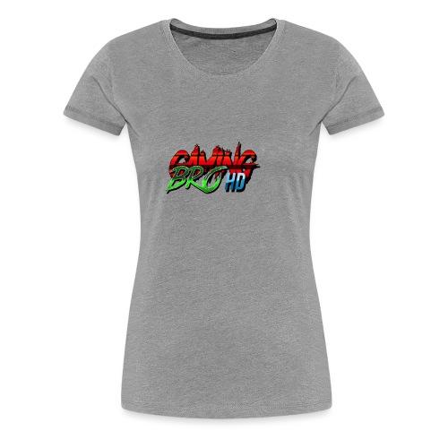 gamin brohd - Women's Premium T-Shirt