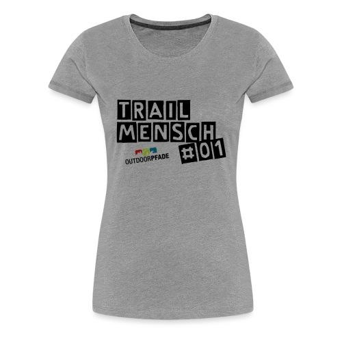 TrailMensch#01m - Frauen Premium T-Shirt