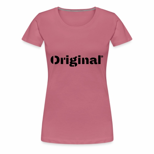 Original, by 4everDanu - Frauen Premium T-Shirt