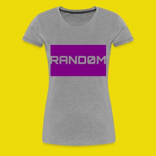 Random Logo - Women's Premium T-Shirt