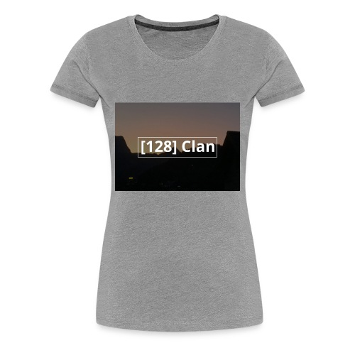 128 Clan logo - Frauen Premium T-Shirt
