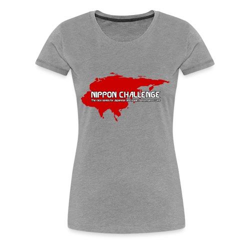 Nippon Challenge 2017 Logo - Women's Premium T-Shirt
