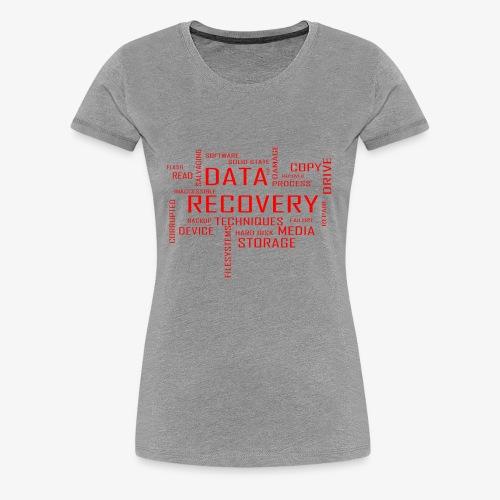 Data Recovery - Women's Premium T-Shirt
