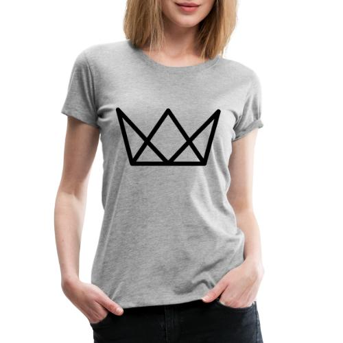 TKG Krone schwarz CMYK - Frauen Premium T-Shirt