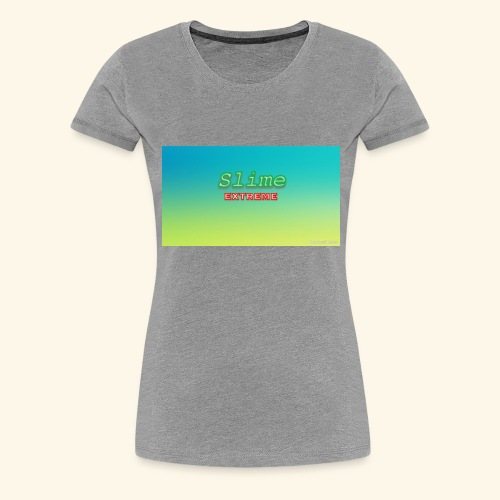 Slime addict - Women's Premium T-Shirt