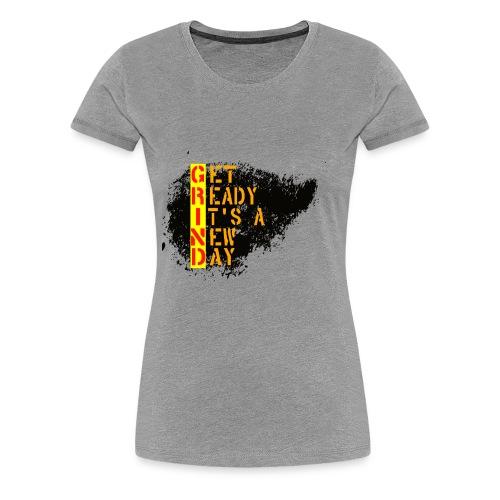 New Fresh Day - T-shirt Premium Femme