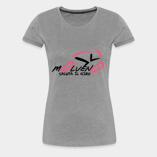 Molveno saluta il giro - Maglietta Premium da donna