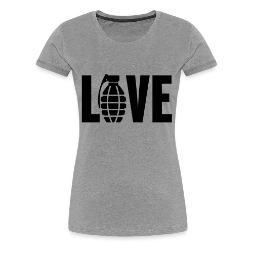 LOVE Grenade - Women's Premium T-Shirt