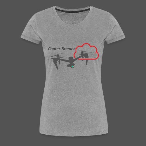 Multicopter - Frauen Premium T-Shirt