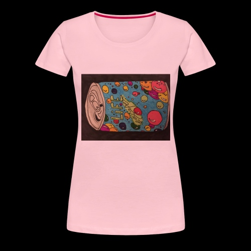 7AABC614 53CA 4156 B765 D9FBF5B8E496 - Dame premium T-shirt