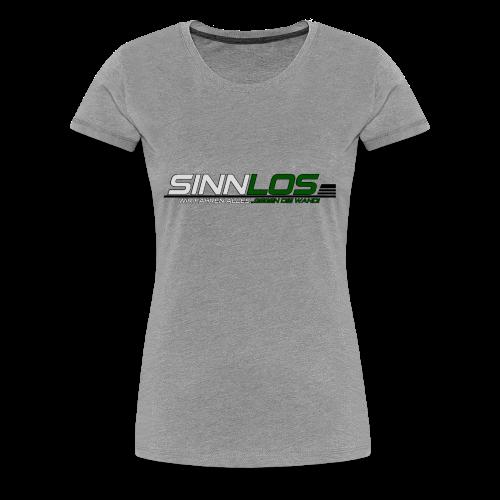Sinnlos Logo - Frauen Premium T-Shirt