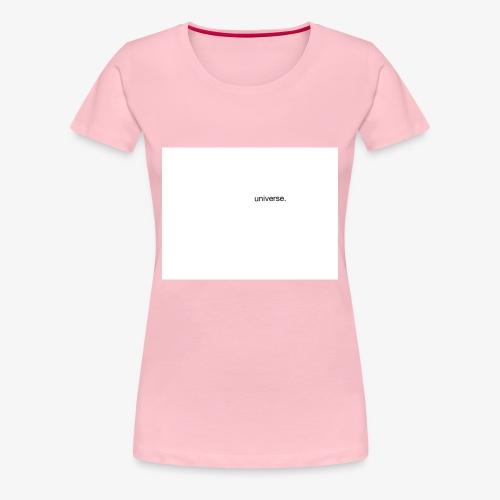 UNIVERSE BRAND SPONSOR - Maglietta Premium da donna