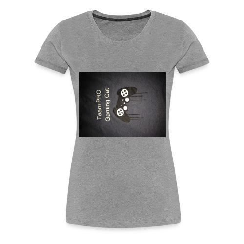 konstig tröja - Premium-T-shirt dam