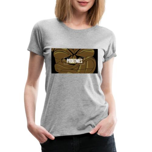 Baniere Proutnies - T-shirt Premium Femme