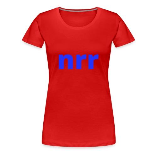 NEARER logo - Women's Premium T-Shirt