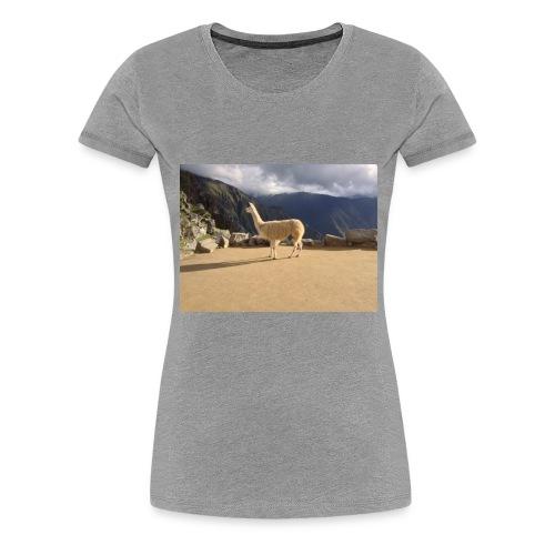 Lama la grace et la classe - T-shirt Premium Femme