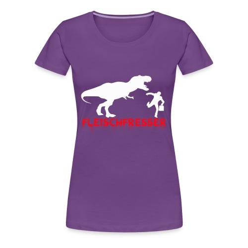 fleisch rot - Frauen Premium T-Shirt