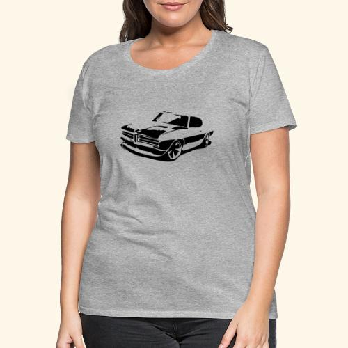 1969 Pontiac GTO - Vrouwen Premium T-shirt
