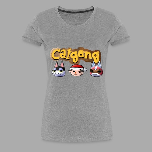 Animal Crossing CatGang - Frauen Premium T-Shirt