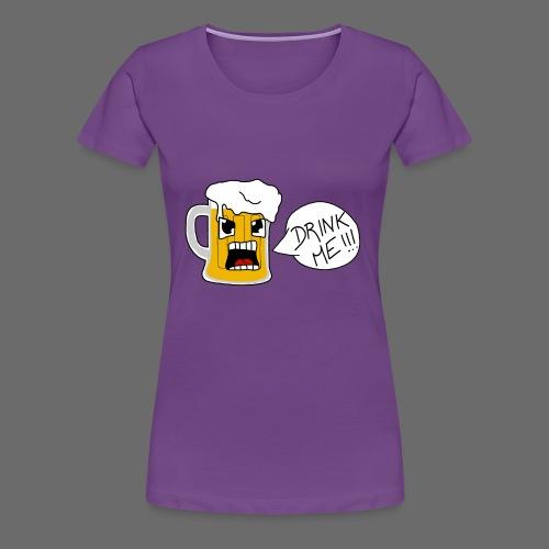 Bière - T-shirt Premium Femme