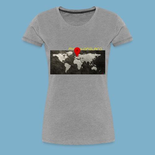 homeland my base - Frauen Premium T-Shirt