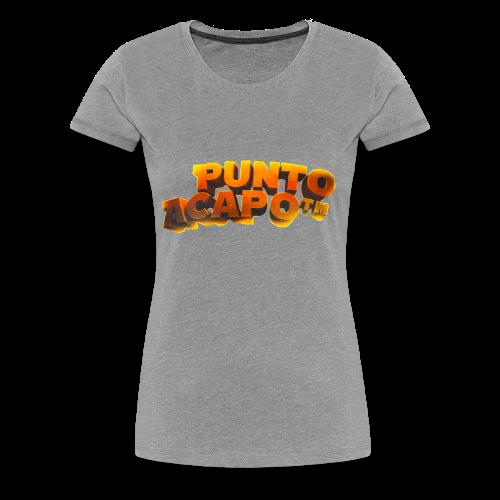 Maglietta PuntoACapo- Original Design- - Maglietta Premium da donna