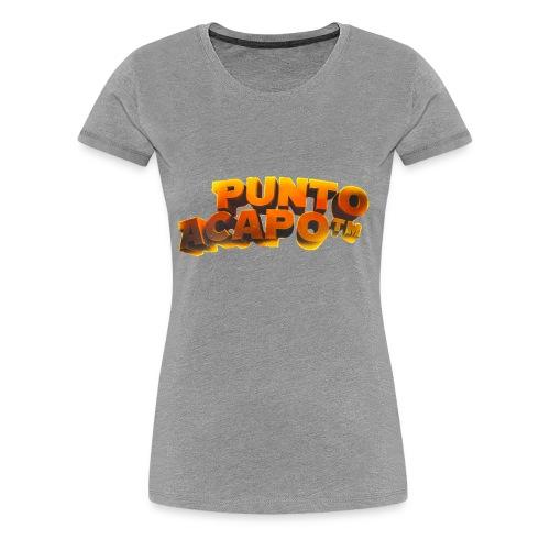 Maglietta PuntoACapo- Original Design- - Women's Premium T-Shirt
