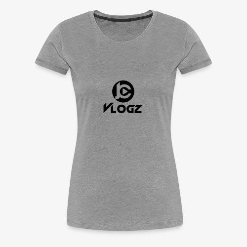 JC Vlogz Logo - Women's Premium T-Shirt