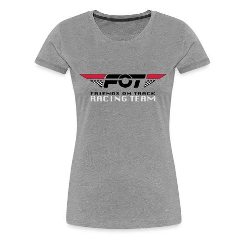 FOT Gross 01 roter HG - Frauen Premium T-Shirt