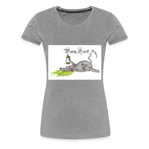 PartyHard - Frauen Premium T-Shirt