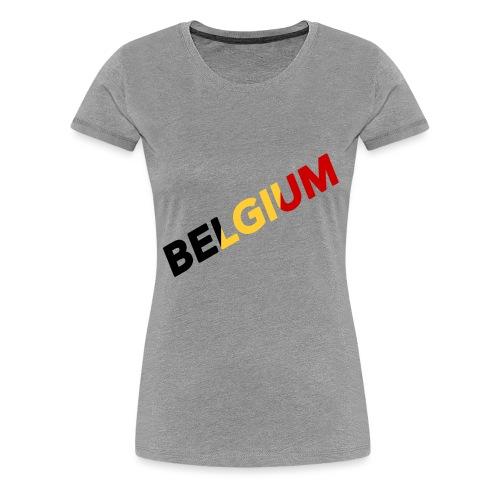 BELGIUM - T-shirt Premium Femme