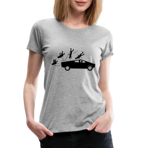 evolution accident tesla Cybertruck by Elon Musk - T-shirt Premium Femme