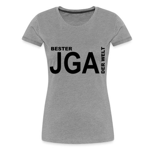 Bester JGA der Welt - Frauen Premium T-Shirt