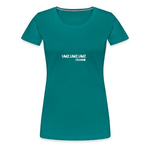 Techno - Frauen Premium T-Shirt