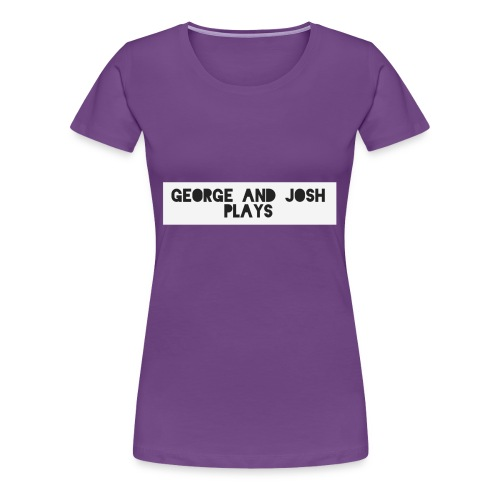 George-and-Josh-Plays-Merch - Women's Premium T-Shirt