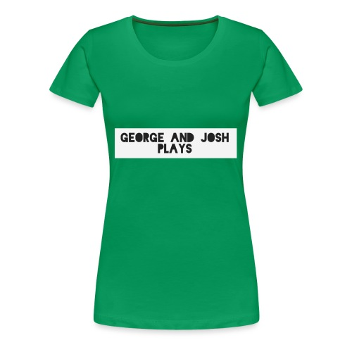 George-and-Josh-Plays-Merch - Women's Premium T-Shirt