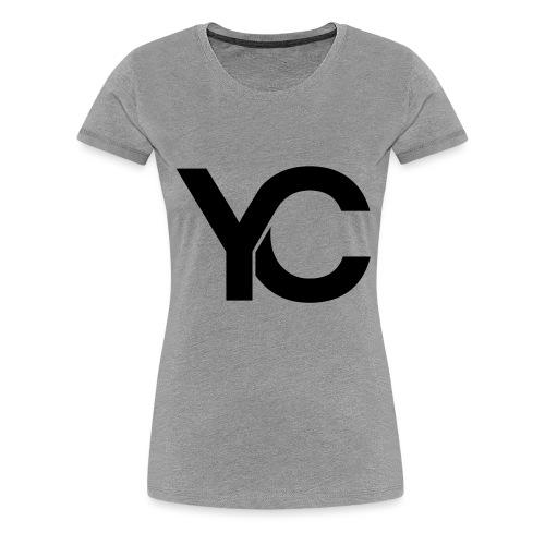 YC Black Logo - Women's Premium T-Shirt