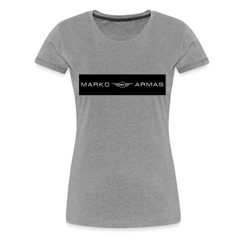logo - Naisten premium t-paita