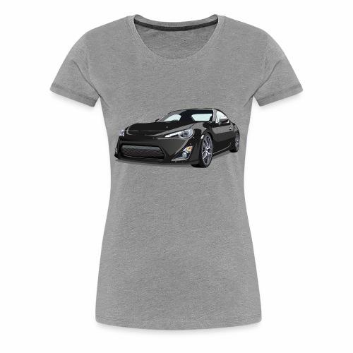 GT86/BRZ - Premium T-skjorte for kvinner