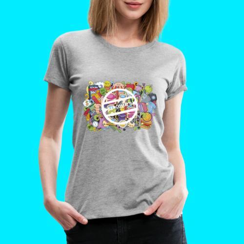 maglia logo doodle - Maglietta Premium da donna