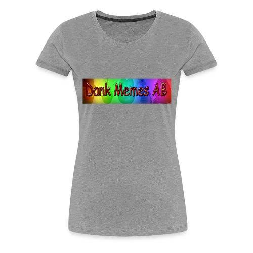 Dank Memes AB Hoodie - Premium-T-shirt dam